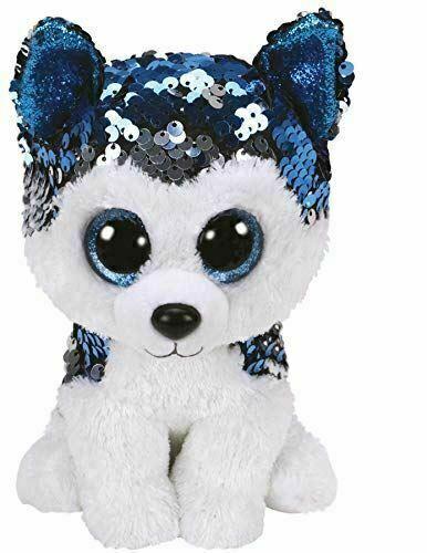 36671 Ty Slush Husky Flippable Beanie Boo For Sale Online Ebay