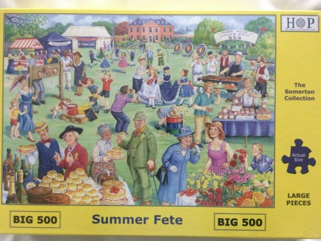 Extra large piece jigsaw puzzles from