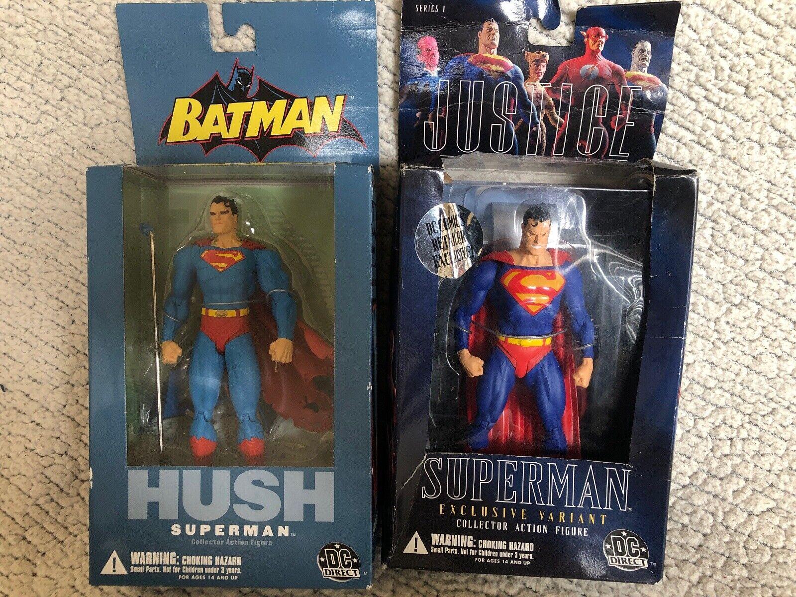 DC Direct HUSH SUPERMAN & Justice League SUPERMAN Series 1