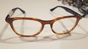 18f7905a930 New Authentic Ray Ban Eyeglasses RB 5356 5609 Havana tortoise blue ...