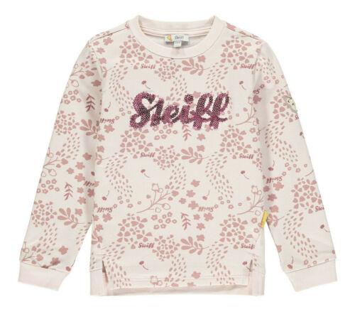 "STEIFF®  Mädchen Sweatshirt Shirt /""Steiff/"" Pailletten 80-122 W 2020-21 NEU!"