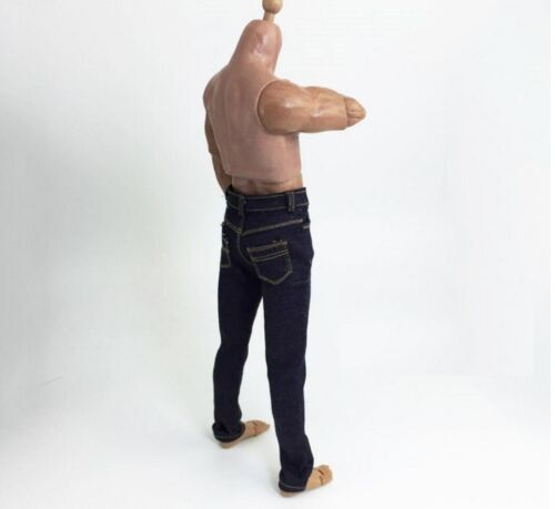 "1//6 blue Jeans SLIM fit man 12/"" figure Hot toys phicen narrow shoulder ❶USA❶"