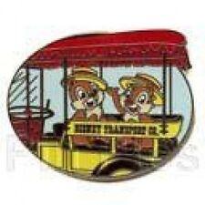 Disney Pin: WDW Hidden Mickey Transportation (Chip & Dale/Old Fashioned Car)