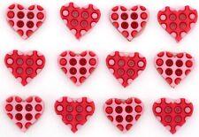 Lilac 9459 Sew Craft Jesse James Buttons ~ Dress It Up ~ Polka Dot Hearts