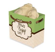 Paws To Enjoy Life Dog Angel Figurine Labrador Inspiration To Go Mini Gift Bag