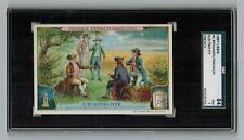 SGC 7  BENJAMIN FRANKLIN 1907 Liebig Card #2 FRENCH