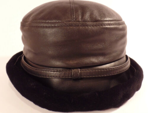 "GILLY FORGE London ""Bucket"" Style Women's Hat Blac"