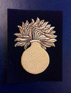 Royal Regiment of Fusiliers blazer badge - Hull, United Kingdom - Royal Regiment of Fusiliers blazer badge - Hull, United Kingdom