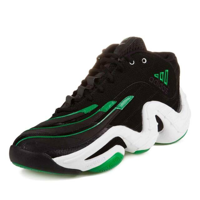 Adidas Real Deal Signed by Antoine Walker + Avery Bradley BlckGrnWht Sz10