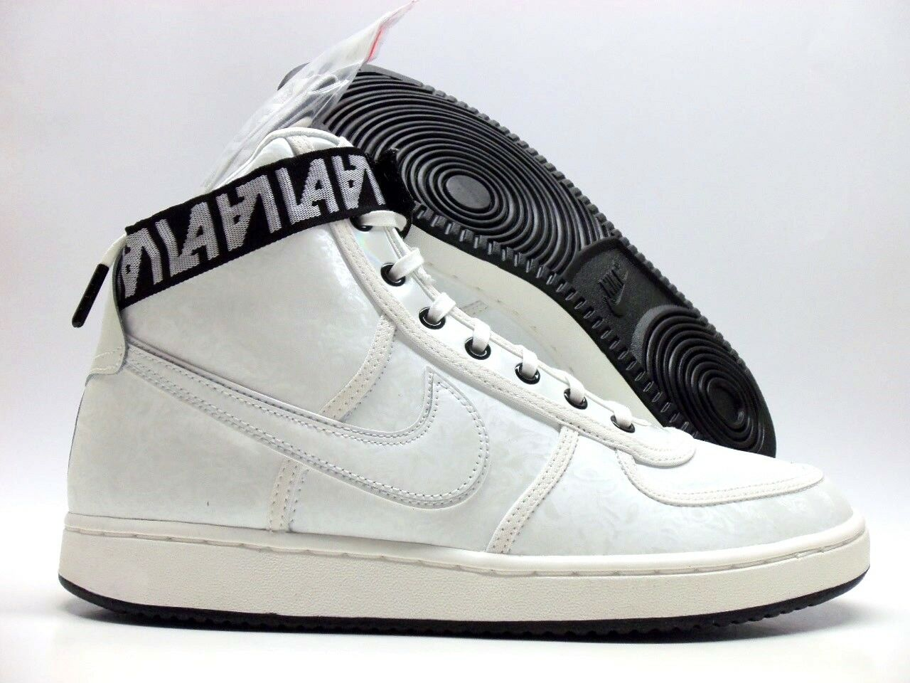 NIKE VANDAL HI LX SUMMIT WHITE/SUMMIT WHITE SIZE WOMEN'S 10/MEN 8.5 [AH6826-100]