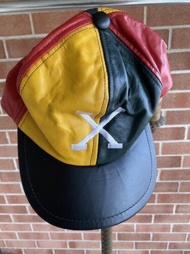 Malcom X Hat - Vintage - Leather