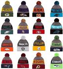 NEW ERA 2016-17 SPORT KNIT NFL Onfield Sideline Beanie Winter Pom Knit Cap Hat