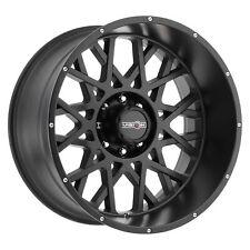 Four 4 22x10 Vision Off Road 412 Rocker Et 19 Black 6x55 6x1397 Wheels Rims