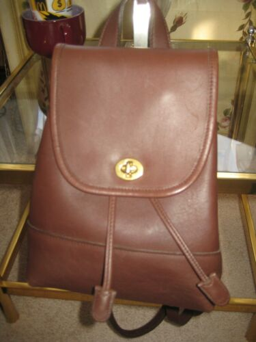 9960 Brown Backpack Defects WAdjustable Vintage New Straps With Women's Coach nXNP80Okw
