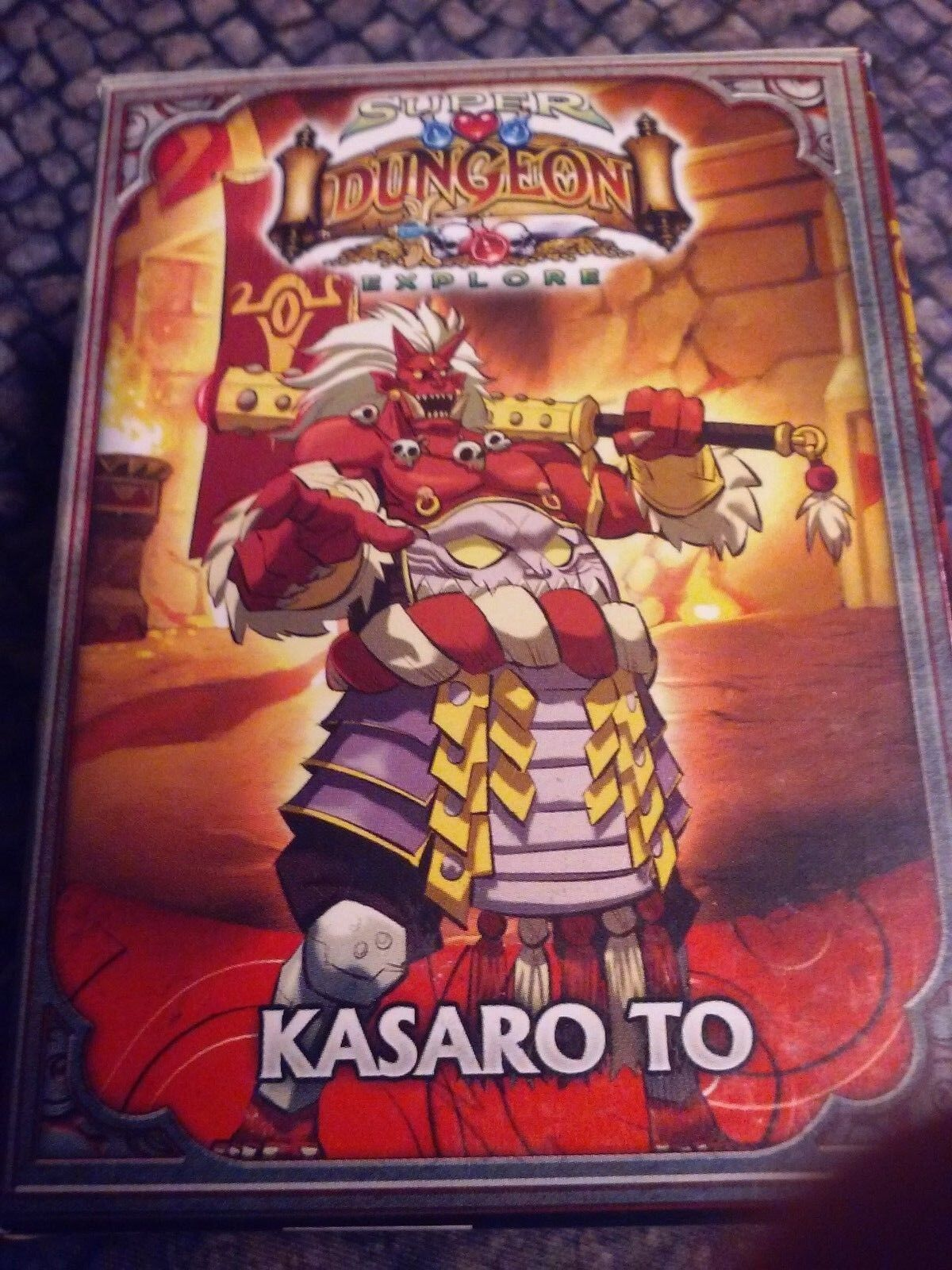KASARO TO Super Dungeon Explore Relic Knights limited edition promo RARE