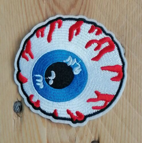 Patch écusson œil eye Mishka transfert thermocollant brodé