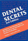 Dental Secrets by Stephen T. Sonis (Paperback, 2003)