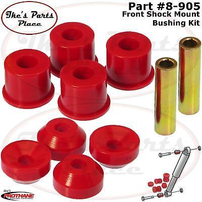 Prothane 8-901 Red Front Shock Bushing Kit