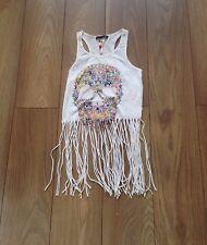 Women's White Size 8 Primark Summer Vest