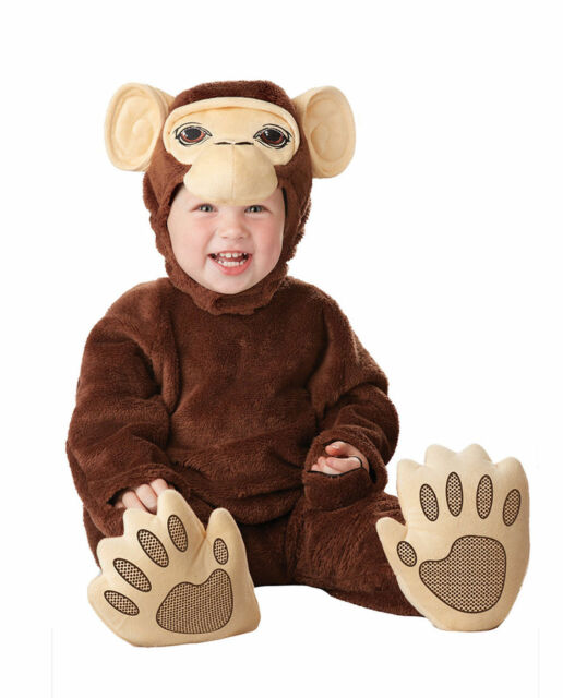 chimpanzee monkey infant halloween costume