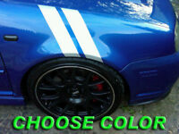Fender Stripe Decals 2dr 4dr Compatible With R32 Vw Gti Or Any Car Custom