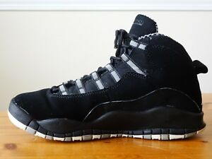 sale retailer 365c4 93c2b Image is loading Nike-Air-Jordan-X-10-Retro-BLACK-STEALTH-