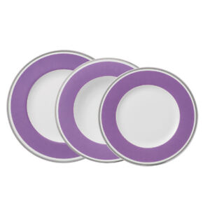 VILLEROY-amp-BOCH-Anmut-My-Colour-Pink-18-tlg-Teller-Set-Porzellan-Speiseteller