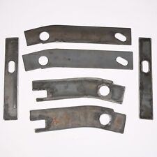 6 pc frame repair rusted shackle weld plates 1986 1995 jeep wrangler yj rear - Yj Frame Repair