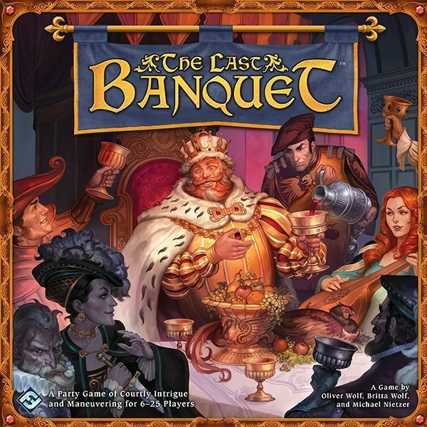 The Last Banquet Board Game 6 - 25 Players Age 14+ Fantasy Flight Party  Game
