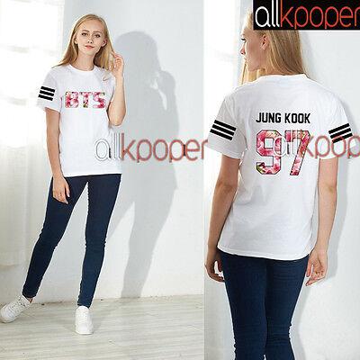 KPOP BTS Tshirt IN Bloom Jimin T-shirt Bangtan Boys JUNGKOOK Tee SUGA V J-Hope
