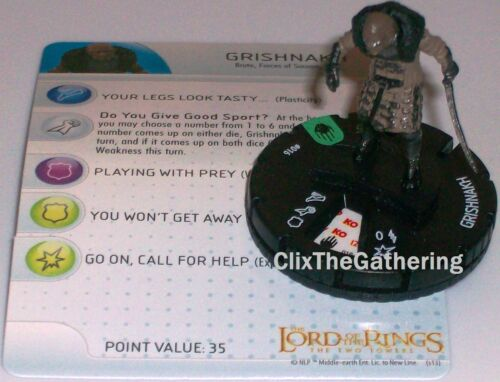 GRISHNAKH #016 Lord of the Rings: The Two Towers LotR HeroClix