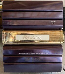Old-School-Pioneer-Premier-GM-X422-2-Channel-Amplifier-RARE-Vintage-Amp-SQ-1