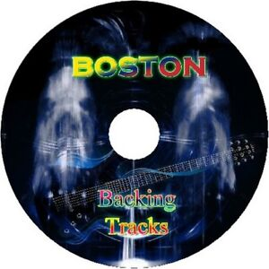 BOSTON-ROCK-GUITAR-BACKING-TRACKS-CD-BEST-OF-GREATEST-HITS-MUSIC-PLAY-ALONG