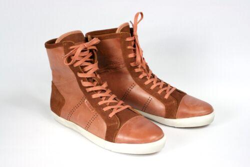Gr la haute 41 qualité Sneaker Sportif Le en Coq à cuir Marron de dentelle CwnUq17