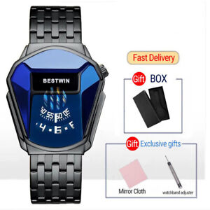 2021 NEW Top Brand Luxury Military Fashion Sport Watch Men Gold Wrist Watches