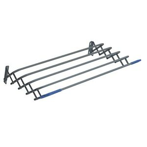 Wall Mounted Airer Indoor Radiator Extendable Clothes Dryer Towel