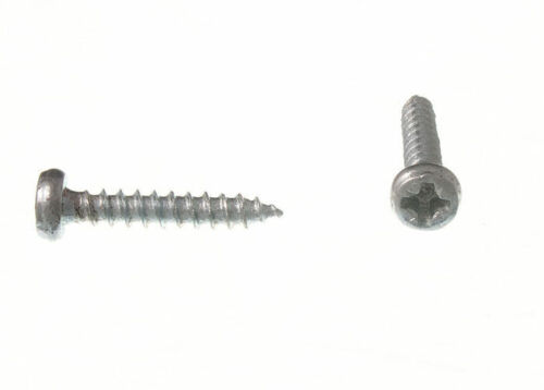 6 X 3//4 Inch Self Tapping Bzp Zinc Plated Pozi Pan Head BOX  100 Screws No