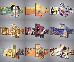 Quadri moderni pittori famosi riproduzioni stampe su tela for Quadri da arredamento moderno