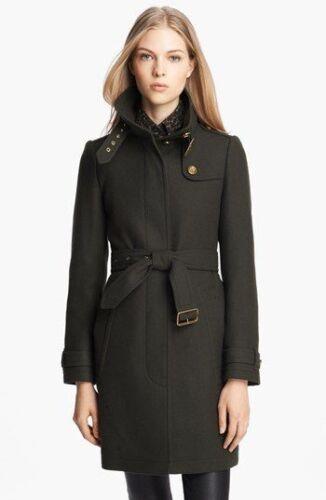 Black Brit Burberry 10 Coat Sz Rushworth 1T5qv