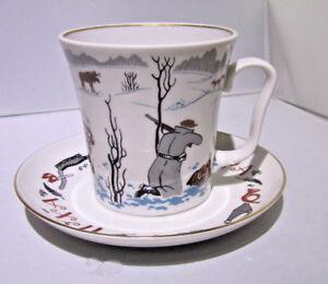 Russian-Imperial-Lomonosov-Porcelain-Mug-and-saucer-034-GoodHunting-034