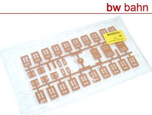 KIBRI h0 Kit 41001-15/4100 fenêtre vitres plusieurs types NEUF  </span>