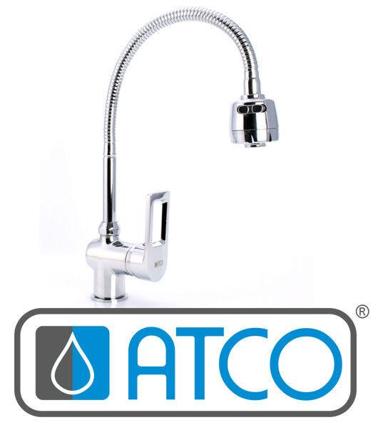 ATCO® HD Küchenarmatur Spültischarmatur Einhebelmischer Spüle flexibel chrom | Queensland  | Spezielle Funktion  | Qualitätsprodukte  | Angemessene Lieferung und pünktliche Lieferung