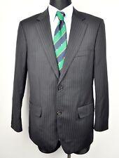285afed5bb6 HUGO BOSS Men's Blazer UK 38 Charcoal Striped Wool Coat Jacket Suit EUR 48  Sakko