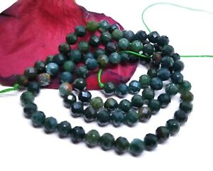 BEAUTIFUL-FACETED-BLOODSTONE-ROUND-BEADS-4mm-42cts-15-25-034-AAA-NATURAL-GEMSTONE