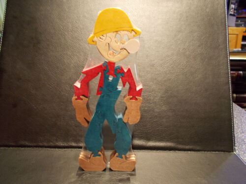 Excellent condition Reddy Kilowatt WOOD STAIN PUZZLE MEDIUM ELECTRICIAN GIFT