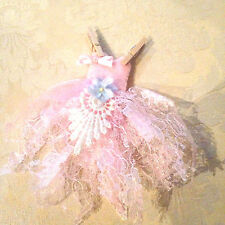 Fairy washing line tiny fairy dress fairy doors accesories minature dolls house