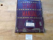 Warney Amp Swasey No 48 M1865 A Univ Hd Turret Lathe Service Manual 1941 B20