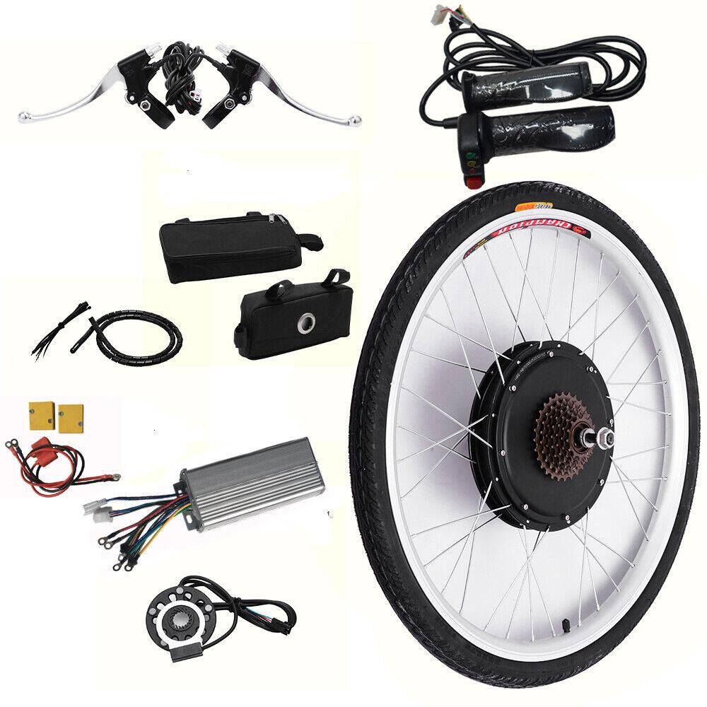 48V 1000W Hub 26 Ebike conversión Bicicleta Eléctrica Radios y circulo aluminio