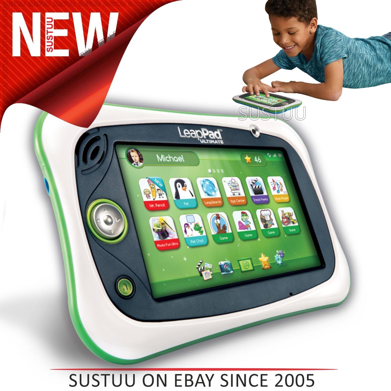 Leap Rana Leappad Ultimate │ per Bambini Tablet con Wi-Fi,8gb Memoria & 800games