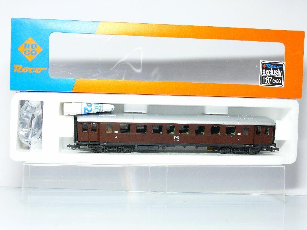 Roco 44563 H0 Express Train Passenger Car 2nd Class Bz 1135 Fnm  Mip